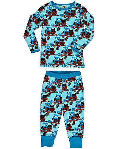 Småfolk Pyjamas Owls – Koszule nocne – Turkusowy