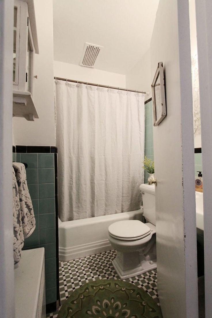 Cottage Bathroom Floors -