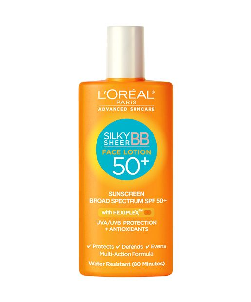 L'Oreal Silky Sheer BB Face Lotion SPF 50+, $9.99, The 7 Best Beauty Products Launching in January