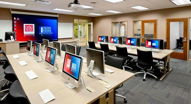 Classroom Lab Design ~ Computer lab design high school pinterest