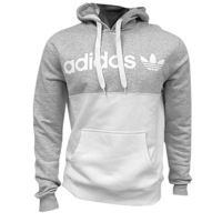 adidas Originals 50/50 Pullover Hoodie - Mens - White / Grey