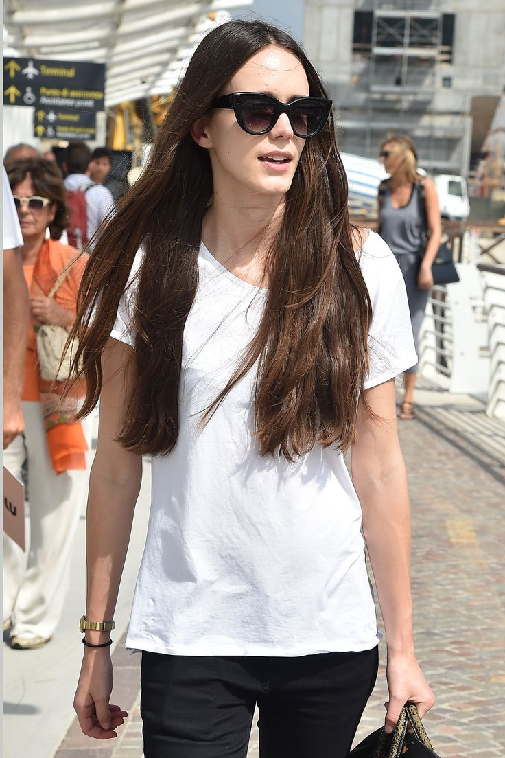 Why Stacy Martin's Waist-Length Mane Is a Case Study in Growing Out Your Hair