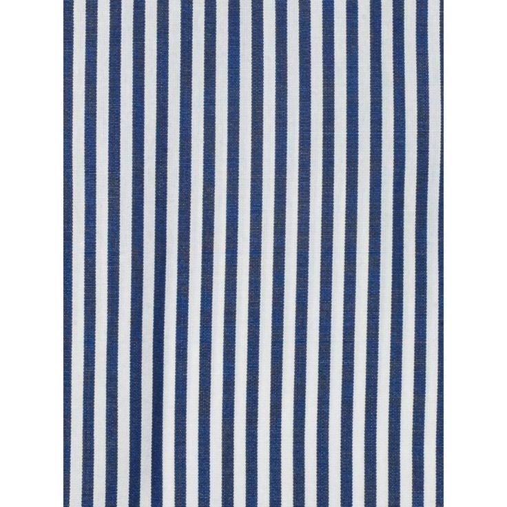 Chemise cintrée à rayures batons MARINE | atelierprivé - Livraison offerte