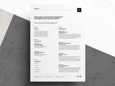 Las 25 mejores ideas sobre Simple Resume Format en Pinterest - creative resume formats