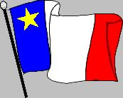 Acadian flag. I might get a tattoo of the Acadian motto with a little Acadian flag beside it.