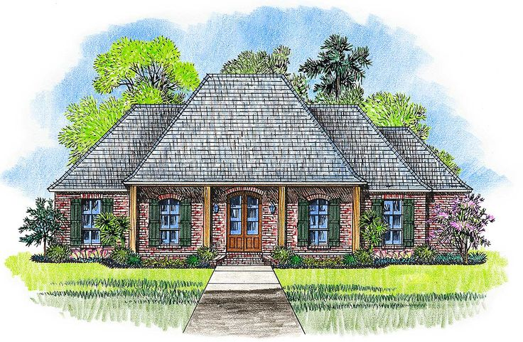 1000 Ideas About Acadian House Plans On Pinterest