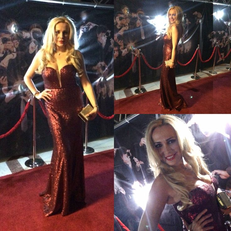Gorgeous TV personality Dana Savuica was a seductive appearance at the New Year's Eve Oscar party in a marvelous CRISTALLINI red sequinned mermaid gown! This glamorous dress is perfect for the red carpet and can turn every woman into a real diva! #cristallini #newyear #newyeardresses #luxury #luxurystyle #redcarpet #redcarpetstyle #redcarpetdress #sequins #sequindresses #partylook #partystyle #diva #glamour #fashion #style #stylish #fashionstyle #highfashion #romaniandesigner