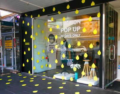 A Pop Up store design for a collaboration of New Zealand fashion designers and Y.S Collective.