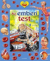 Az emberi test könyv - Dalnok Kiadó Zene- és DVD Áruház - Gyerekkönyvek és ifjúsági könyvek - Puzzle-könyv