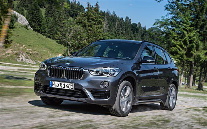 BMW X1, 2016, xDrive, crossover, Sport Line, F48