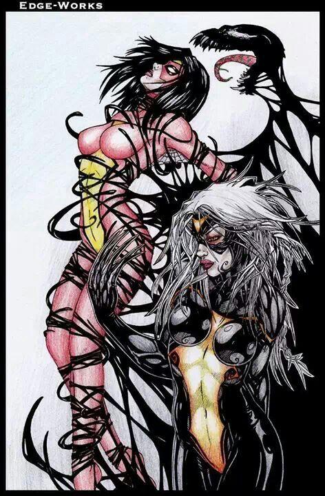 Venom woman