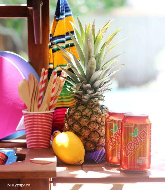 Hi Sugarplum | Orange Creamsicle Float Party