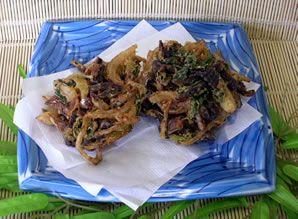 小名浜 さんまみりん干し 美味しい食べ方 調理方法 天ぷら かき揚げ 写真 カネキ商店
