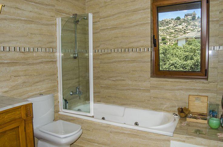 Baño con vistas al Canto del Pico