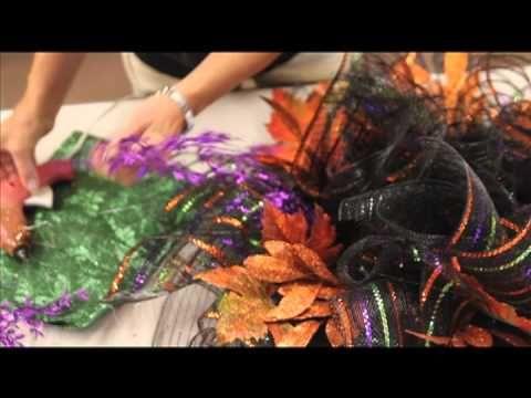 How to Make a Deco Mesh Wreath