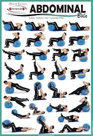 yoga ball ab exercises - Google Search