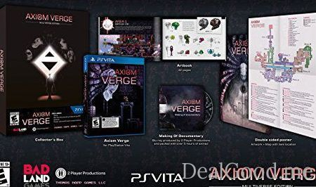 Axiom Verge: Multiverse Edition  PlayStation Vita