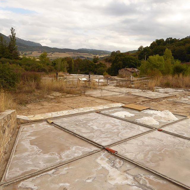 ¿Sabías que las salinas de Arteta es una de las pocas donde se produce sal con agua de manantial? Y eso desde el siglo XV, al menos. Y están muy cerca de Pamplona: (Foto @atostarra) #Navarra #gastronomía #curiosidades