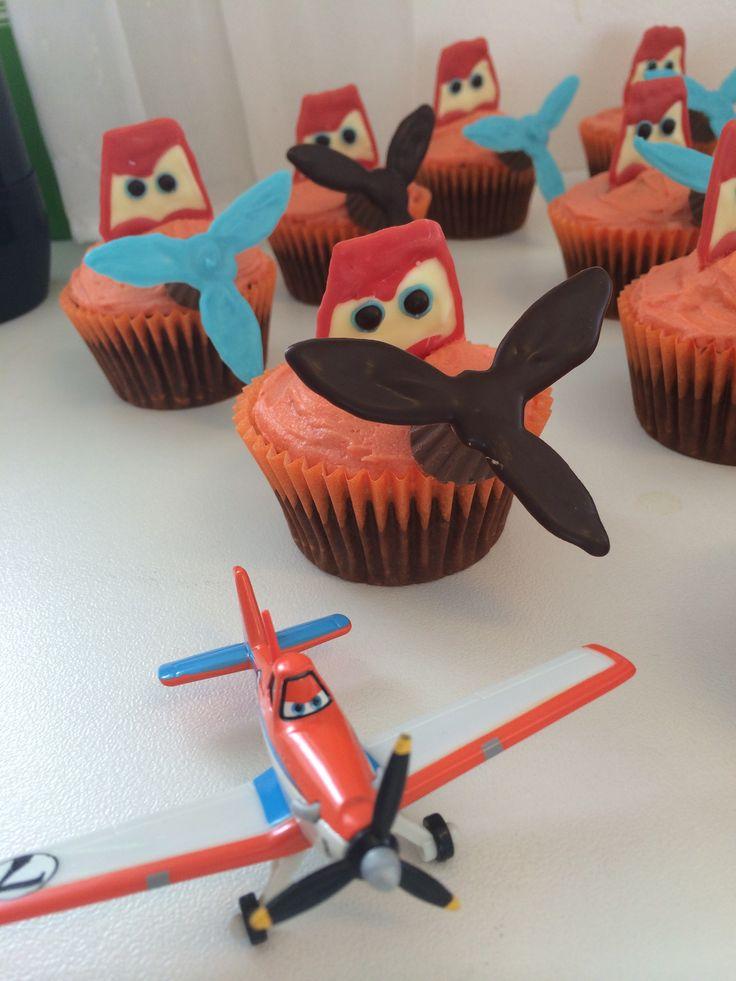 Dusty Crophopper Cupcake Disney Planes Crafts Pinterest