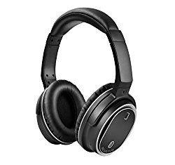ISELECTOR BNC80 密閉型 アクティブ ノイズキャンセリングヘッドホン オーバーイヤー Active Noise Cancelling ワイヤレス Bluetooth 4.1 マイク付き apt-X ハンズフリー通話可 収納ケース付属 ブラック おすすめ度*1 付属品と機能が満載のミドルレンジBTヘッドセット。 その搭載する機能は多彩でレビュー1つで紹介しきるのはとても困難だ。 どうしてもレビューは長文になるので、まずは要点だけ最初に記載する。 【このヘッドホンの機能・特徴】 1)BTとAUX有線ケーブル両対応。 2)ノイズキャンセリング機能 3)aptX対応。 4)軽量で柔軟だが…