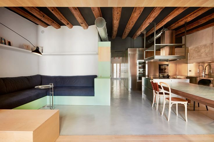 Apartment in Barcelona by Cirera + Espinet