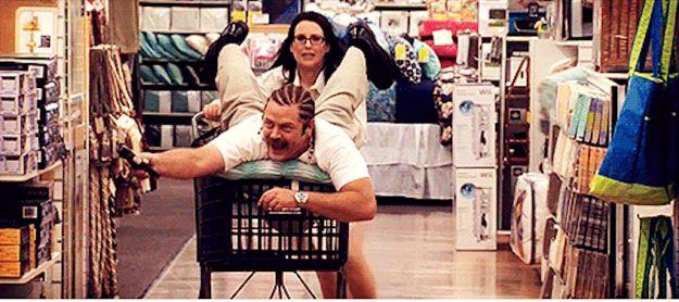 Ron and Tammy Swanson Swanson - Heheh!