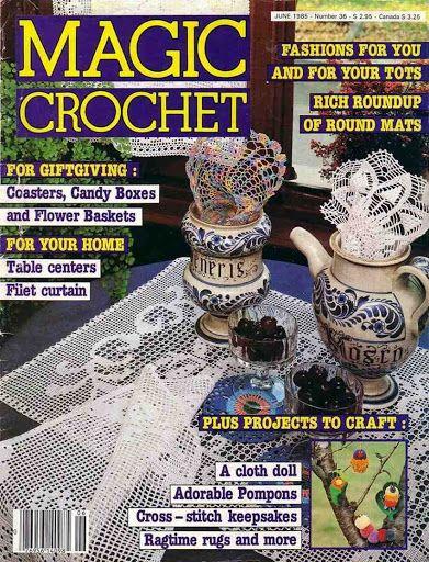Magic Crochet n° 36