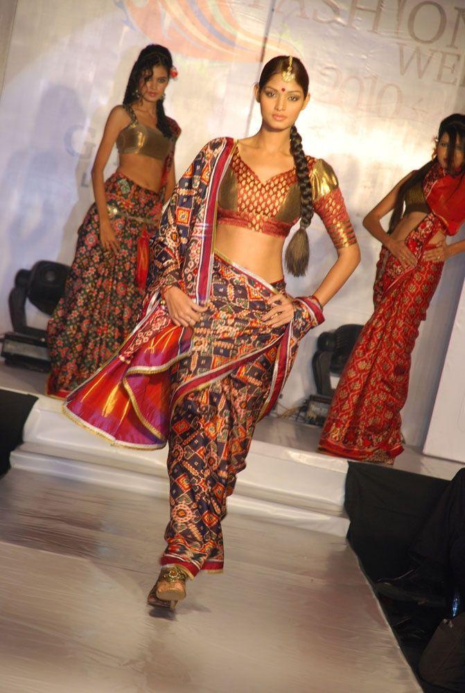 Gujarati Patolas Saree 2012