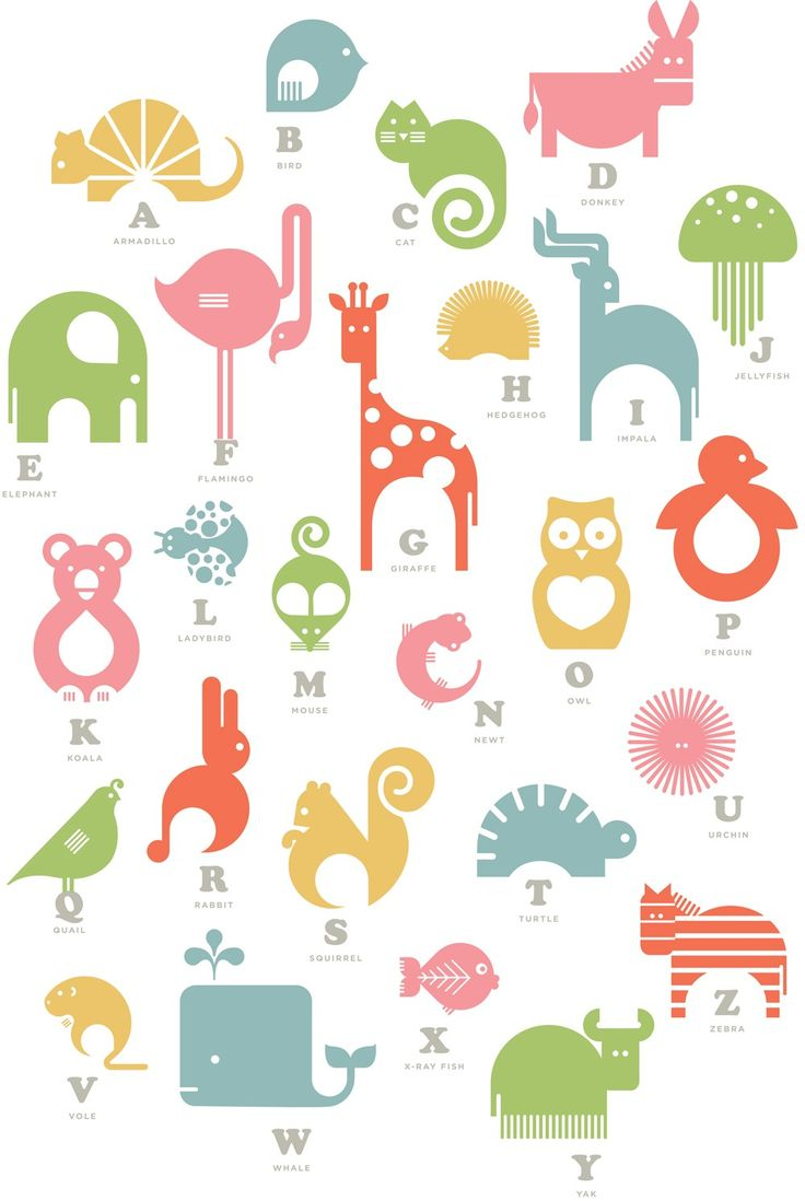 Animal Alphabet Wall Panel