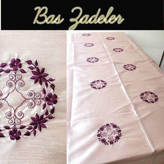 #Bașzadeler #masaörtüsü #nakışlı #embroidery #tablecover