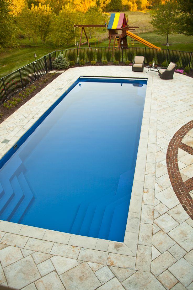 91 Best Rectangle Style Fiberglass Swimming Pools Images