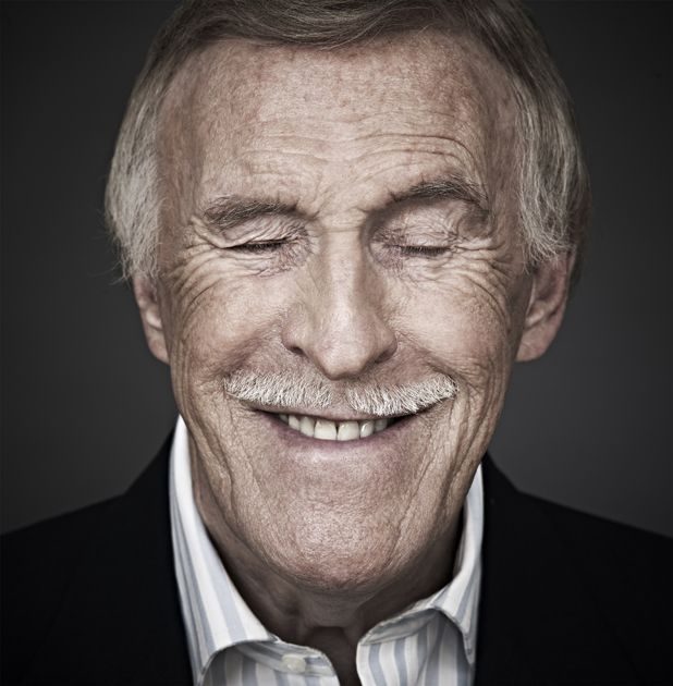 'Well I suppose that's it then...'...Sir Bruce Forsyth, Entertainer  (Credit Andy Gotts MBE)