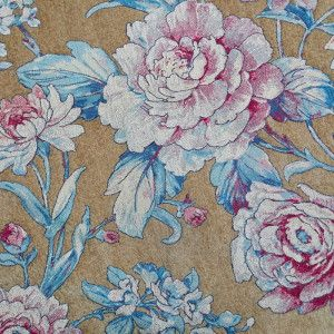 Top End Vintage Jacquard Chenille Floral Curtain Sofa Fabrics On  Made In China.