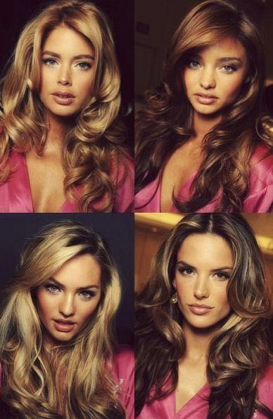 VS fashion show 2013 hair and makeup