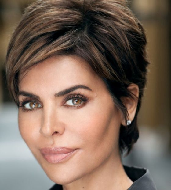 9 Lisa Rinna Hairstyles For Short Hair Lisa Rinna Lisa And Short Hair