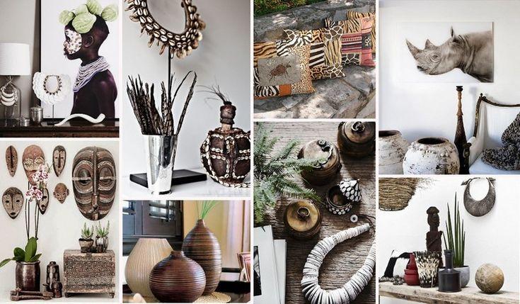 Африканский стиль в гостиной: советы по оформлению комнаты (52 фото)