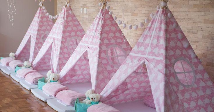 Bella Fiore, Festas Infantis, Festa do Pijama, Rosa, Decoração de festa.