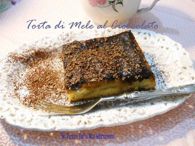 un pezzo della mia maremma: JABLKOVY KOLAC - TORTA DI MELE E CIOCCOLATO...per l'Abbecedario Culinario Europeo