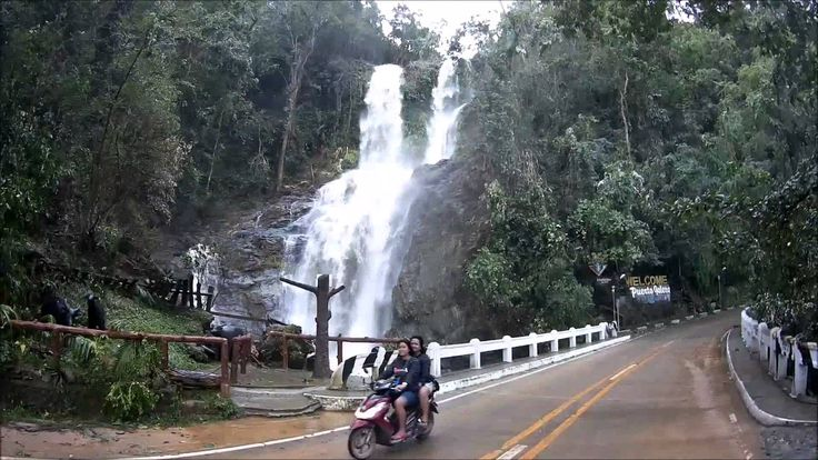Tamaraw falls after typhoon Nona / Melor Puerto Galera Oriental Mindoro