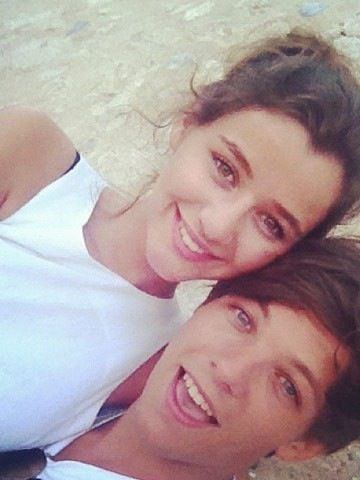 Louis Tomlinson and Eleanor Calder<3
