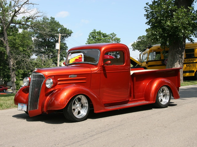 37 chevy pickup -