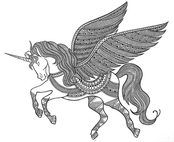 Mandalas De Animales Para Pintar Abstracto Pintar Tattoo: Top 25+ Best Unicorn Drawing Ideas On Pinterest