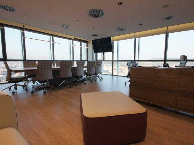 Despacho de dirección oficinas centrales SB Hotels. Decoración Alado