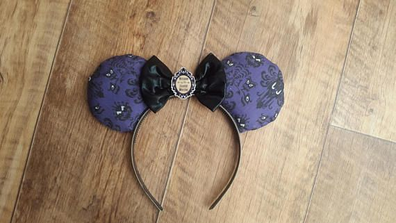 Hey, I found this really awesome Etsy listing at https://www.etsy.com/uk/listing/541737423/haunted-mansion-disney-ears