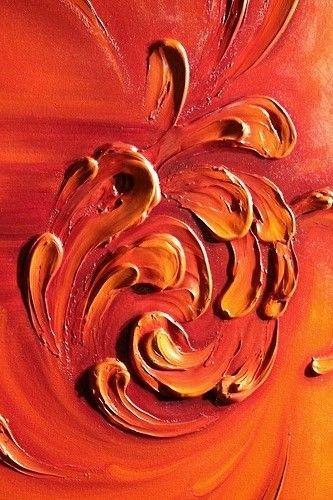 Orange | Arancio | Oranje | オレンジ | Colour | Texture | Style | Form | Pattern | paint