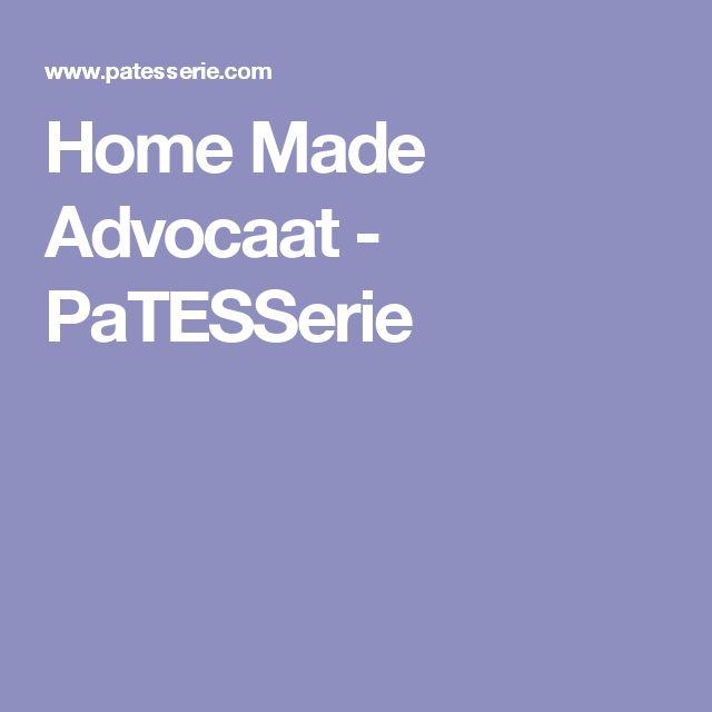 Home Made Advocaat - PaTESSerie