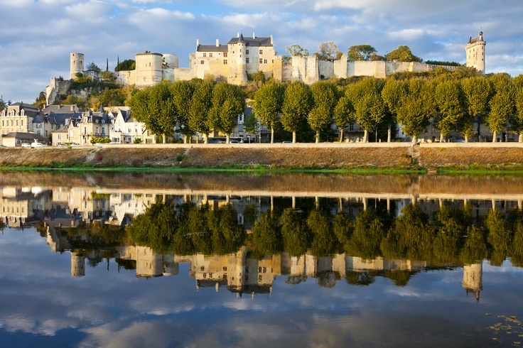 Chateau at Chinon, France by Kirk Strickland, via 500px  This is where Jehanne convinced Charles VII that she was for real, that she would raise the siege of Orleans and crown him King in Rheims!