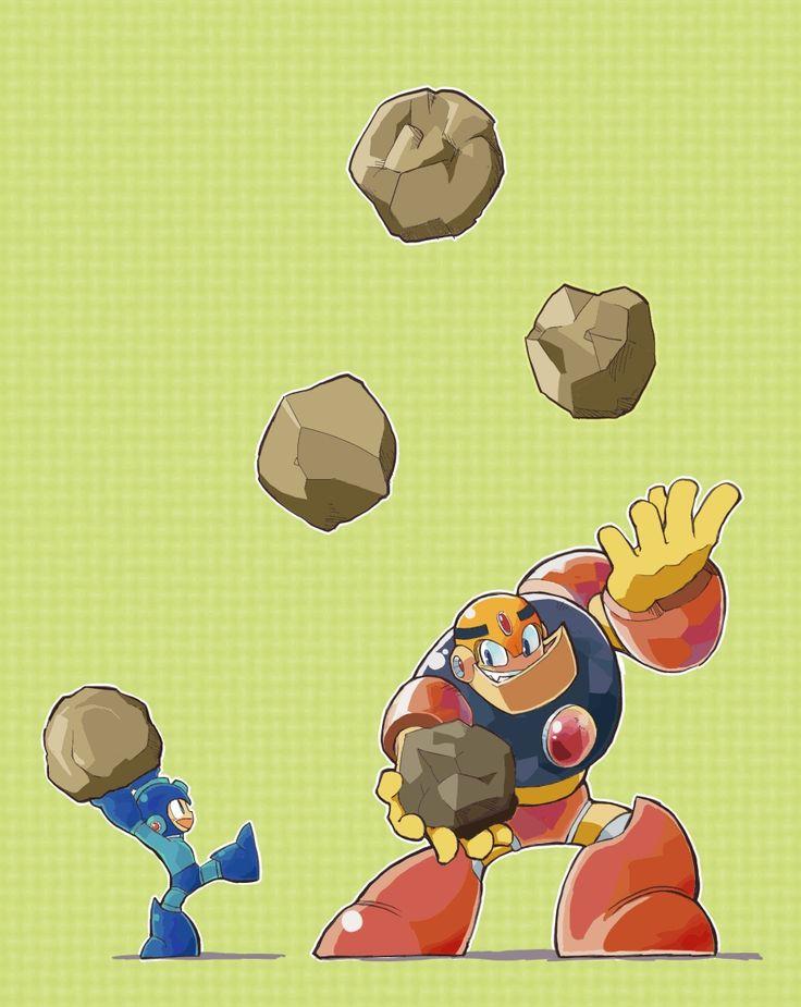 Mega Man & Guts Man