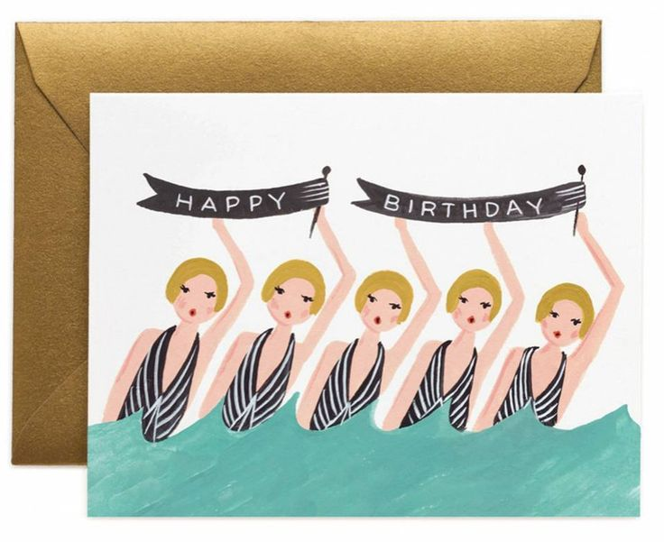 This card may be cutest way to wish someone a happy birthday www.mooreaseal.com