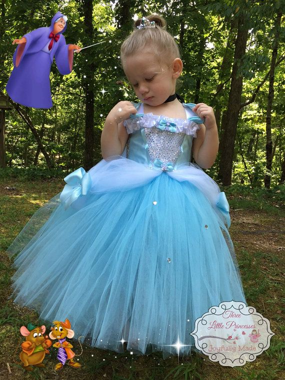 Deluxe Cinderella Tutu Dress Cinderella by joyfullymadeboutique